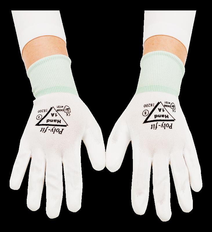 Prima polyurethane protective glove