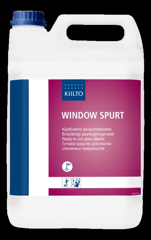 Lopetettu_Kiilto Window Spurt 5 l
