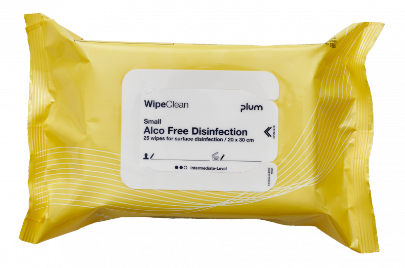 WipeClean Alco Free Disinfection
